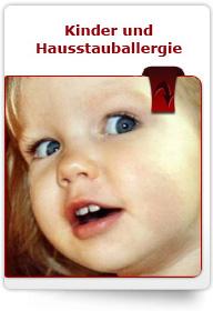 Kinder und Hausstauballergie